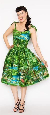Bernie Dexter Jessica Dress - Happy Valley
