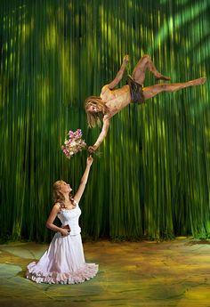Tarzan und Jane  Disneys Musical Tarzan im Stage Theater Neue Flora in Hamburg.