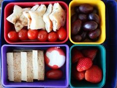Little Containers! Lunchbox ideas to save money + make the #kids happy.