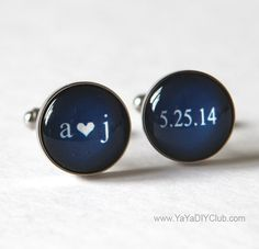 Keepsake Wedding Gift for Groom Navy Blue Wedding by yayadiyclub, $39.00