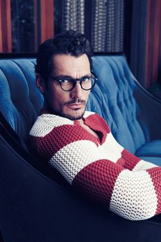 David Gandy for GQ Taiwan, March 2014. Photographed by Chiun-Kai Shih. Styled by Marcus Teo