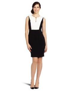 Calvin Klein Women`s Colorblock Dress $86.99
