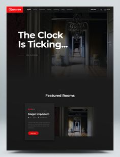 Escape Room Game HTML Template Html Website Templates, Escape Room, Game, Design, Grief, Gaming, Toy, Games