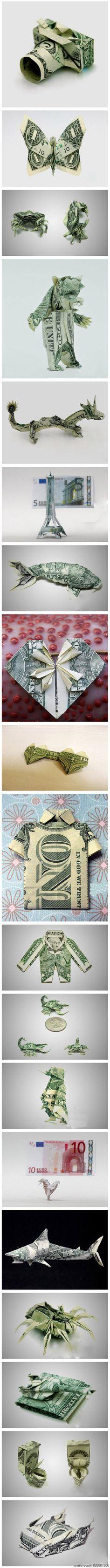 很牛掰的折纸