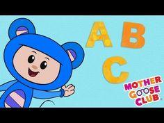 ABC Song with Eep the Mouse - Mother Goose Club Nursery Rhymes