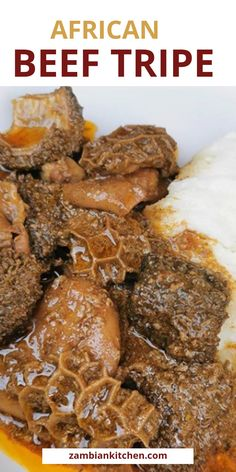 How to Cook Offals-Beef Tripe Recipe – Zambian Kitchen Tripe Recipes, Crockpot Recipes, Cooking Recipes, Best Dessert Recipes, Fun Desserts, Dinner Recipes, Zambian Food, Beef Tripe, Nigerian Food