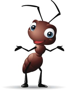 Baby Animal Drawings, Art Drawings For Kids, Art For Kids, Ant Art, 2d Character Animation, Cartoon Girl Images, Rock Painting Designs, Happy Paintings, Rock Art