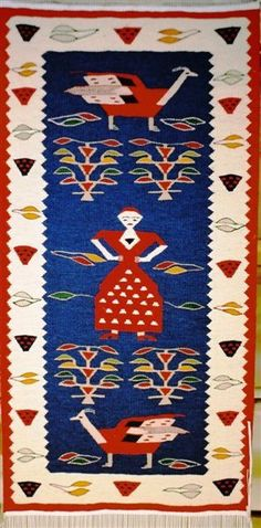 Romanian tradition rugs