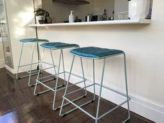 Metal Furniture, Industrial Furniture, Furniture Design, Bar Stools, Custom Design, Home Decor, Bar Stool Sports, Decoration Home, Room Decor