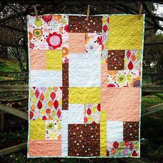 Matilda cot quilt by 2 Little Banshees
