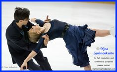 Kaitlyn Weaver & Andrew Poje CAN at Finlandia Trophy October 2015