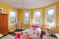 An eastern Suffolk County home with this endearing, bright and cheerful kids room and new windows we installed   . . . . . . .  Home Improvements / Home Remodeling / Renovations / Replacement windows from Renewal by Andersen Long Island