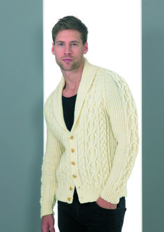 Jacket in Stylecraft Life Aran - 8694 Craft Materials, Free Pattern, Knitting Patterns, Men's Knits, Embroidery, Wool, Sewing, Crochet, Sweaters