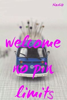 Welcome no pin limits