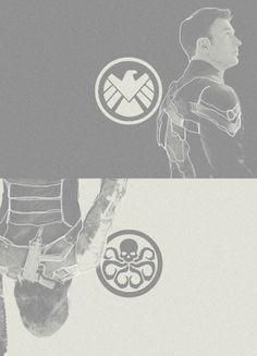 Steve and Bucky... Winter Soldier