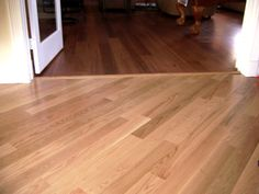 Different Hardwood Floors In Adjoining Rooms Google