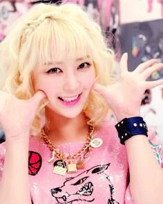 #exid #hyerin #kpop #pink #cute #kawaii