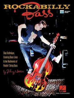 (Bass Instruction). Learn the tricks and technique of playing rockabilly bass from one of the world\'s foremost masters, Johnny Hatton. In this book, along with video lessons online, he will teach you: