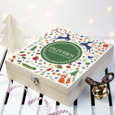 Beautifully personalised wooden gifts for children to enjoy and treasure. From craft boxes to display crates for their toys. Woodland Christmas, Christmas Gifts, Christmas Ideas, British Sweets, Sweet Box, Wooden Gifts, Craft Box, Xmas Crafts, Gifts For Kids