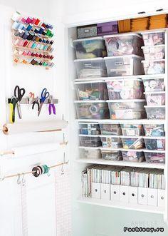 Много идей организации пространства от блогерши Cassie