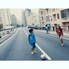 By @jonasbendiksen On Sundays the highway overpass Elevado Costa e Silva closes for traffic, allowing families to hang out and play football and other sports. Sao Paulo, Brazil. @magnumphotos #stillfilms #savethedream #InstitutoMoreiraSalles @espn #offsidebrazil #worldcup Full-length Still Films at jonasbendiksen.com #Padgram