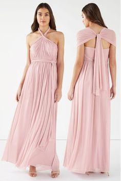 Buy Lipsy Petite Bella Mesh Multiway Maxi Dress from the Next UK online shop Latest Fashion For Women, Mens Fashion, Wedding Planer, Bridesmaid Dresses, Wedding Dresses, Next Uk, Lipsy, Uk Online, Outfit