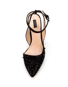 STUDDED SLING BACK - Shoes - Woman - ZARA    want/need