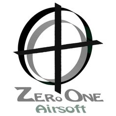 One of 2 versions for a revised logo I submitted for a contest on 99designs.com for a UK supplier of Airsoft guns and accessories