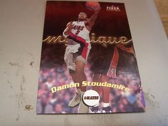 2000-01 Fleer Mystique Card #91 DAMON STOUDAMIRE Portland Trail Blazers Mint NBA | eBay