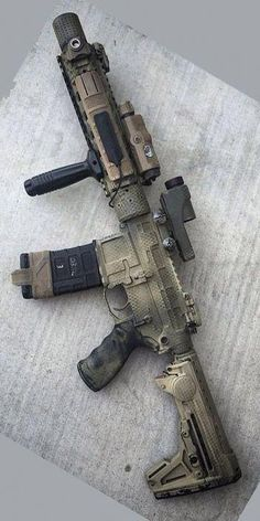 Build Your Sick Cool Custom Assault Rifle Firearm With This Web Interactive Firearm Builder with ALL the Industry Parts - See it yourself before you buy any parts Airsoft Guns, Weapons Guns, Guns And Ammo, Assault Weapon, Assault Rifle, Ar Rifle, Ar Pistol, Revolver, Battle Rifle