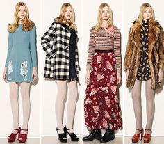 RED Valentino Fall/Winter 2015-2016 Collection - New York Fashion Week www.sewingavenue.com