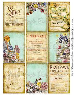 vintage printables