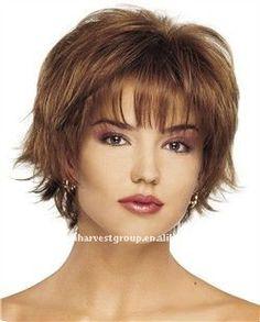 White Women'S Human Hair Wigs 14