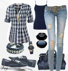 I love these kinds of outfits.