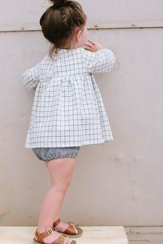 the Mini Dress in Grid