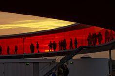 """cerceos: """" Olafur Eliasson – Your Rainbow Panorama, 2006-11 """""""