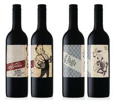 Molly Dooker Wine Label Design I love The Maitre D 2010 Cabernet Sauvignon!