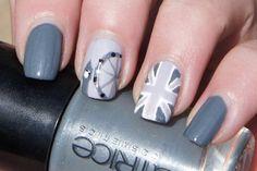 Black&White London nails!!!