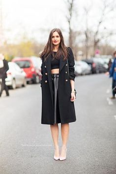 30 ways to wear a leather skirt this fall