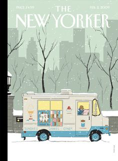 The New Yorker por Adrian Tomine
