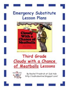 Sub Plans - Cloudy with Meatballs