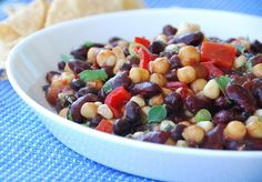 Kidney Bean Salad with Mediterranean Dressing