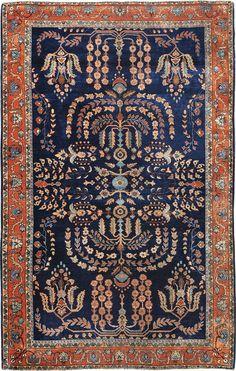 """ANTIQUE SAROUK Origin: IRAN Size: 4' 0"""" x 6' 3"""" Rug ID # 1382"""