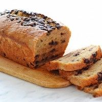 Chocolate Chip Banana Bread - decadent upgrade of family favorite recipe