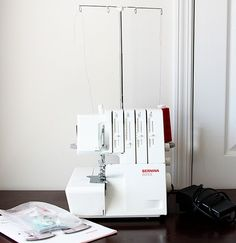 Using a serger tutorial - For when I finally get one