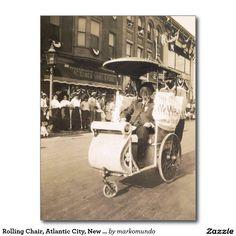 vintage atlantic city nj rolling chair parade heinz pier hotel
