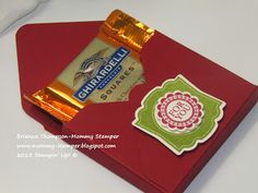 Mommy Stamper : Ghiradelli Treat Box
