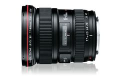 Canon EF 17-40 f4.0  Great lens! Love the 77mm filter size - fast and great for astrophotography.