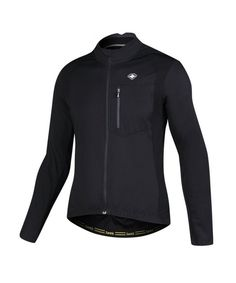 Bike Winter Jacket Windproof Fleece Thermal Warm UP Cycling Bicycle Jerseys  Long Sleeves - Black - CW12NGBPZ28 4f4c05042
