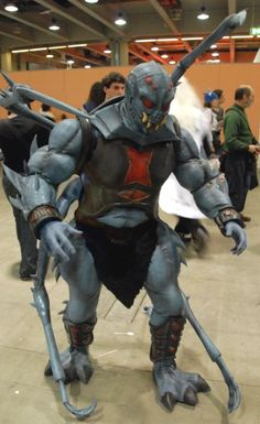 Webstor from He-Man and the Masters of the Universe   30 Amazing '80s & '90s Inspired Cosplay